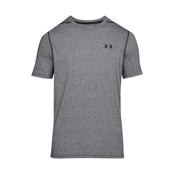 Under Armour T-Shirt Threadborne Fitted gris chiné