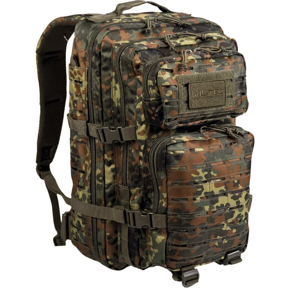 Sac à dos US Assault Pack LG Laser Cut flecktarn