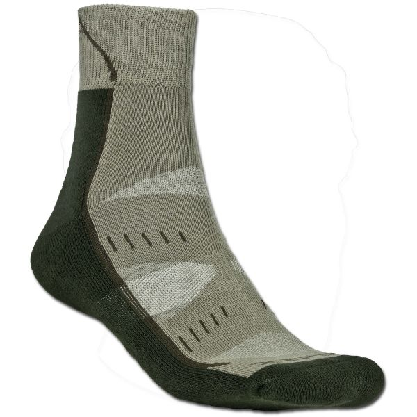 Chaussettes Fox Outdoor Arber vertes olives