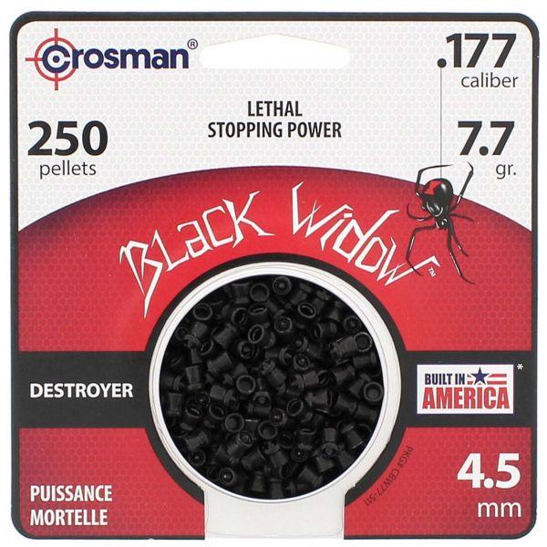 Crosman Plombs Destroyer Black Widow 4.5 mm 250 pcs