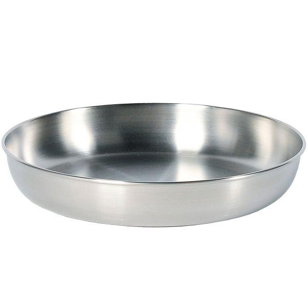 Tatonka Assiette en acier inoxydable Picnic Plate