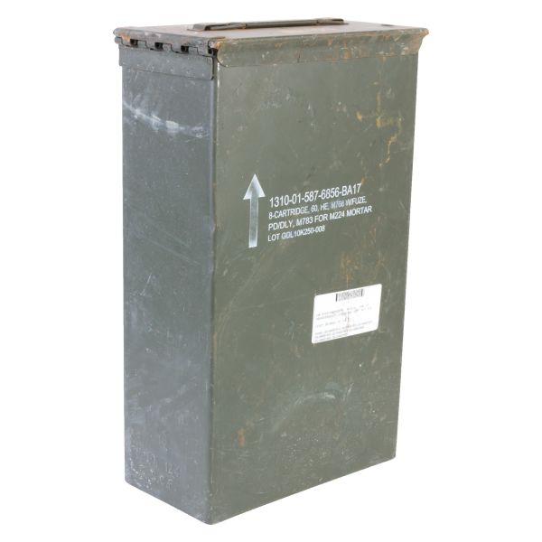 Caisse à munition US taille 2C occasion