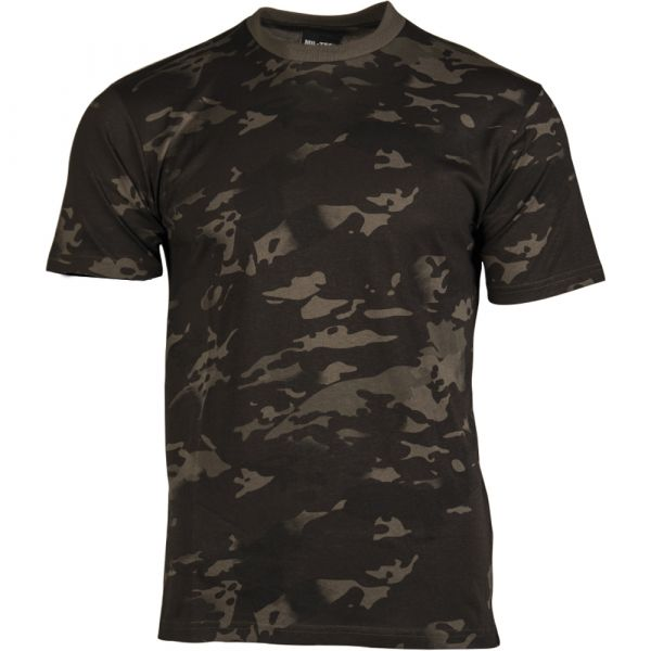 Mil-Tec T-Shirt Enfants Multitarn noir