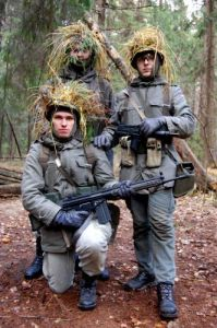 Our reenactment team
