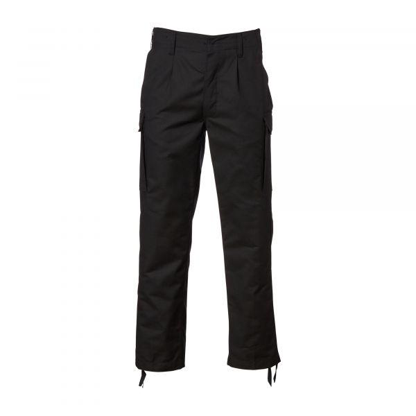 Pantalon moleskine noir