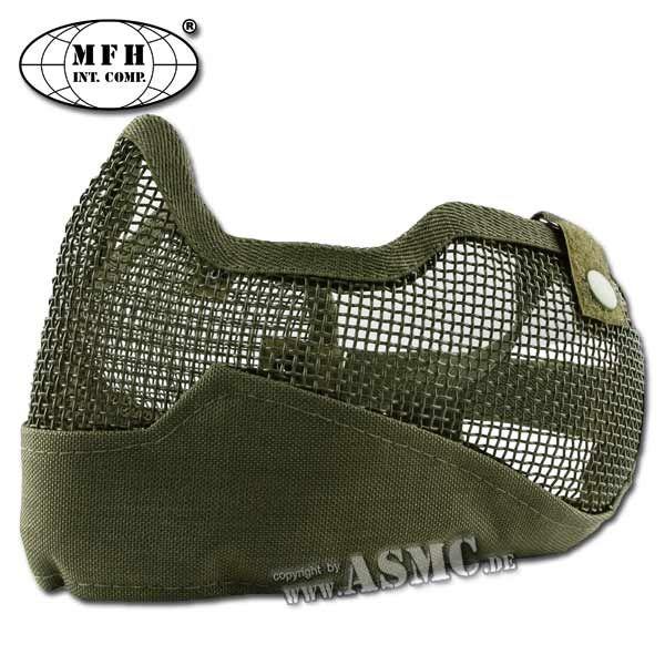 MFH Masque grillagé Airsoft olive