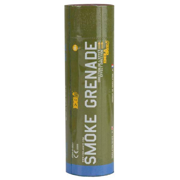 Smoke-X Grenade fumigène SX-2 Friction bleu