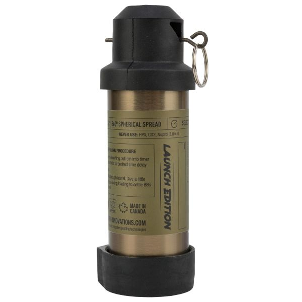 Airsoft Innovations Grenade Airsoft Tornado 2 Timer Frag fde