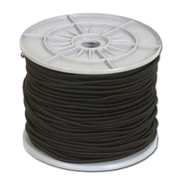 Corde élastique 4 mm noir 100 m