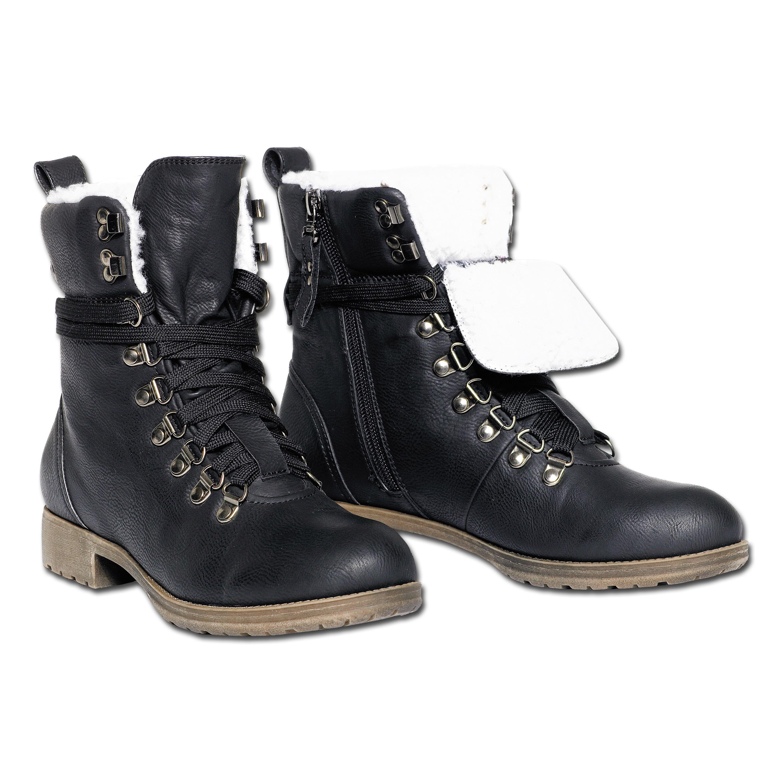 Bottes d'hiver Brandit Girls noir
