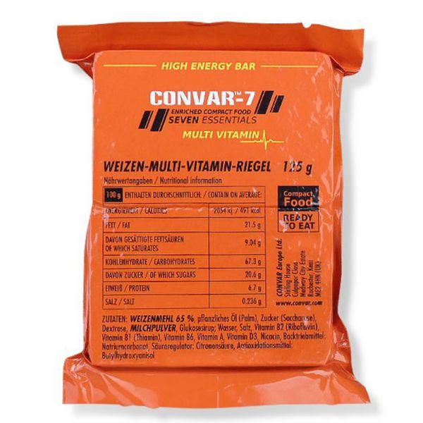 Convar-7 Barre énergétique multi-vitamines