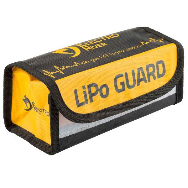 Electro River Sacoche de sécurité Li-Po Safety Box noir jaune