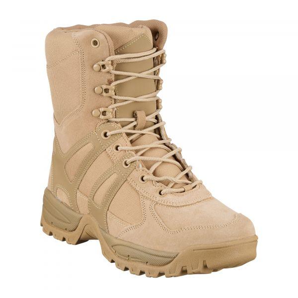 Mil-Tec Bottes Combat Generation II kaki