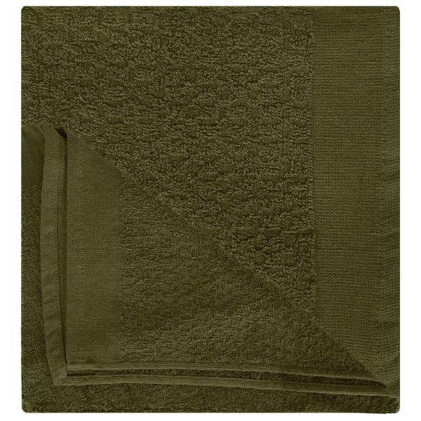MFH Serviette BW tissu éponge olive 90x45 cm