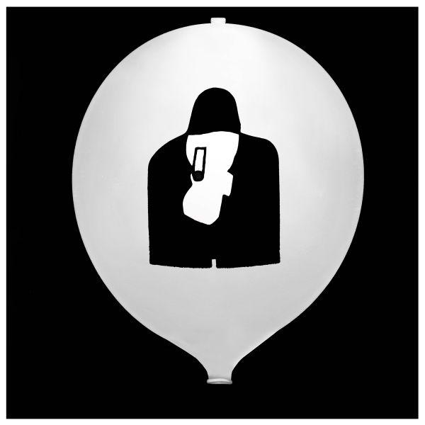 KNIXS Tac Ballon blanc LED permanente blanche
