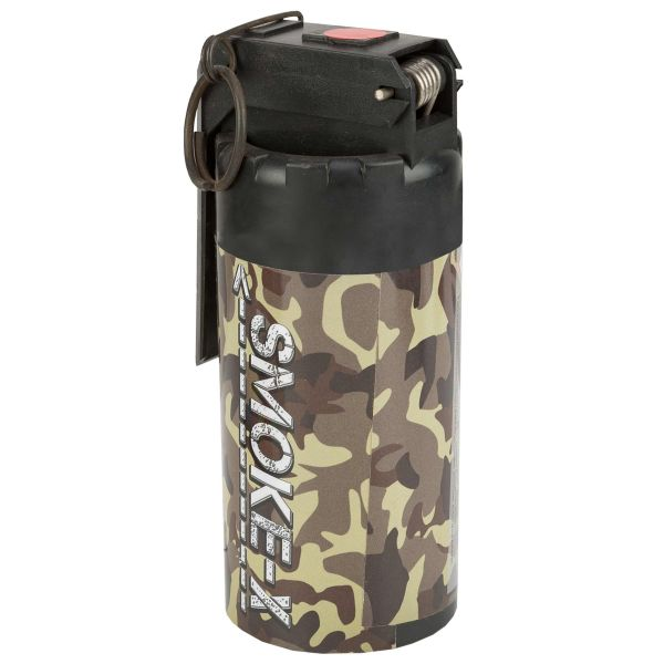 Smoke-X Grenade fumigène SX-3 Army rouge
