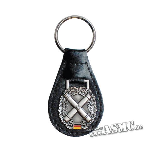 Porte-clés avec insigne béret Artillerie