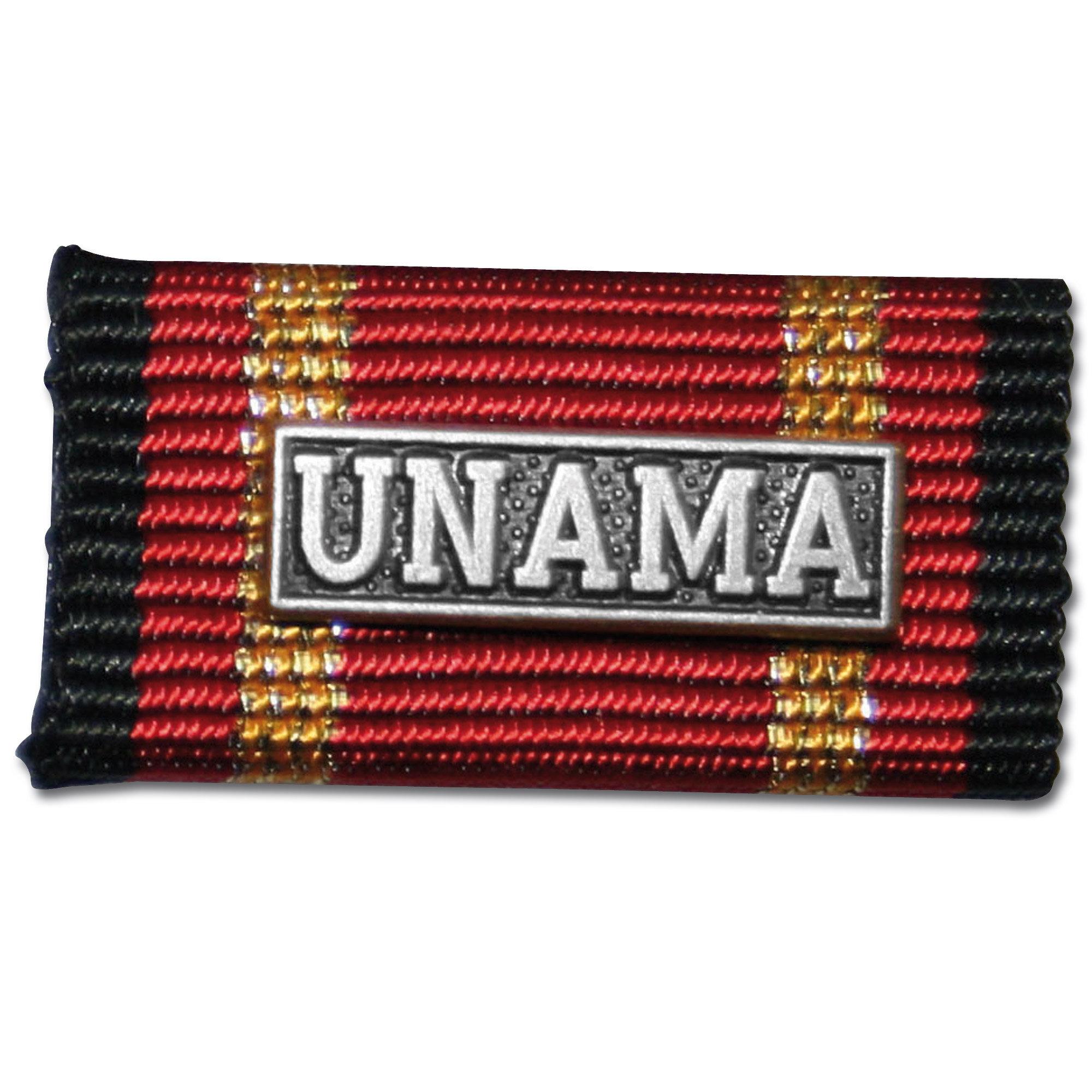 Insigne Pin Auslandseinsatz UNAMA argent