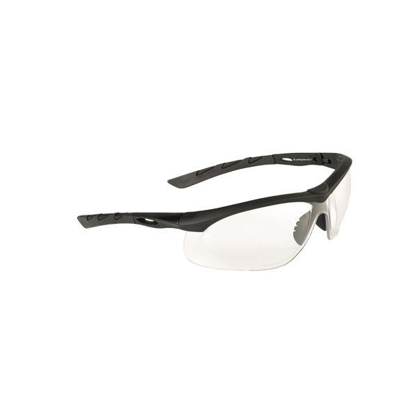 Lunettes de protection Swiss Eye Lancer noir/transparent