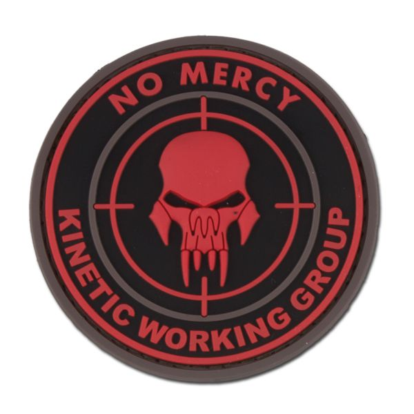 Patch 3D NO MERCY - KINETIC WORKING GROUP blackmedic