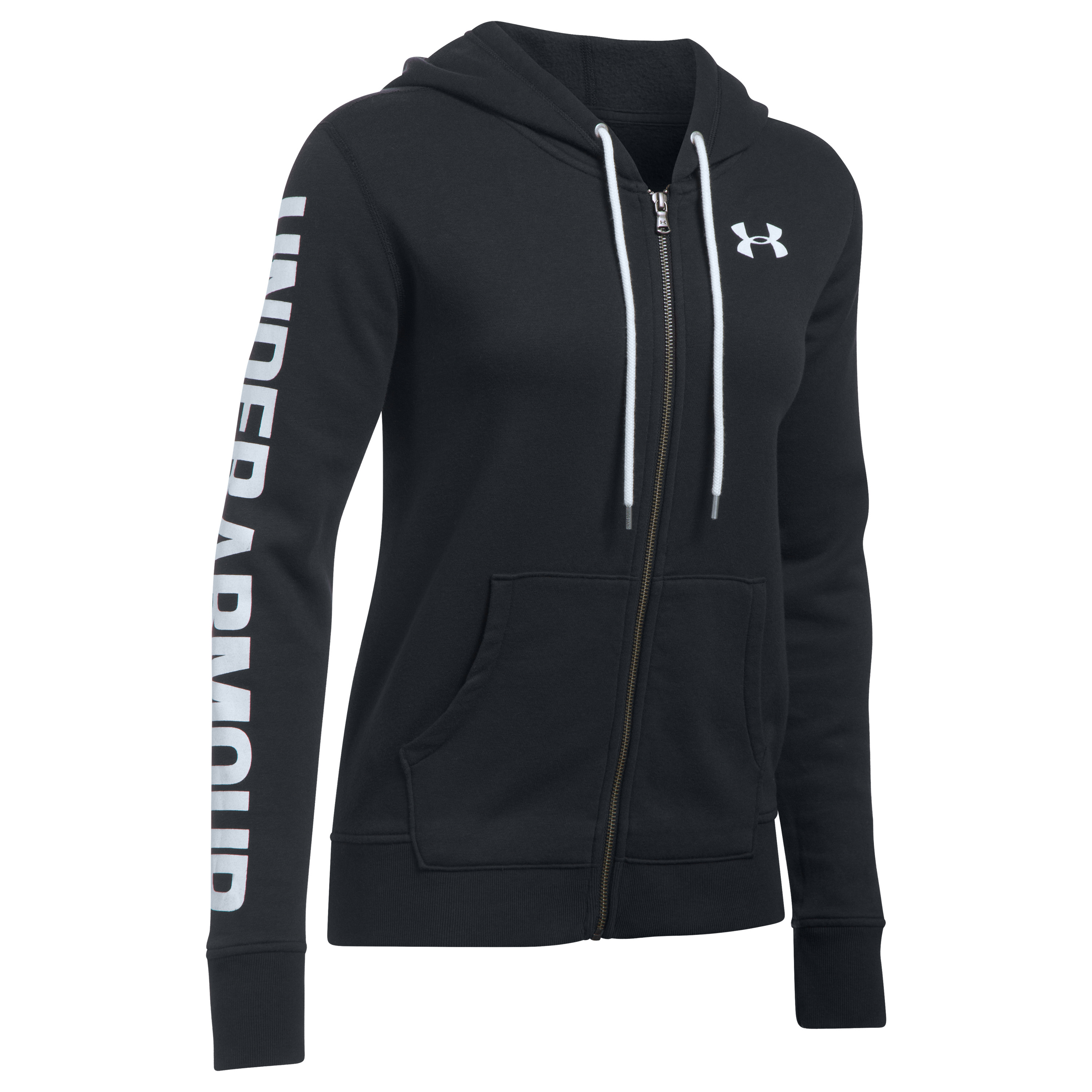 Under Armour Women Haut à capuche Favorite FZ noir
