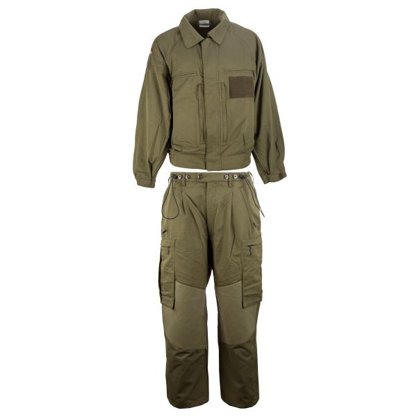 Tenue d'intervention police militaire vert olive, occasion