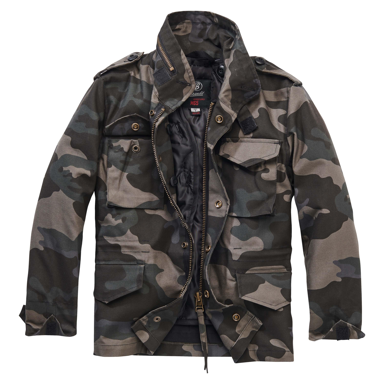 Veste Brandit M65 Standard Jacket kids darkcamo