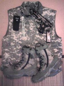Meine Stiefel & Ausrüstung