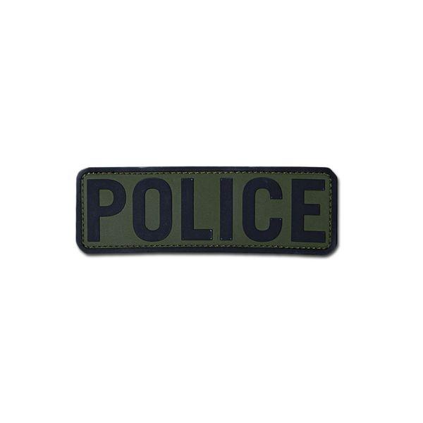 MilSpecMonkey Patch Police 6x2 PVC od-green