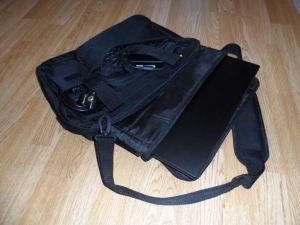 Tasche befüllt