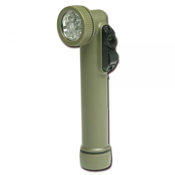 Lampe coudée Multi-LED Import petit olive