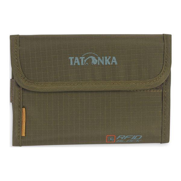 Porte-monnaie Euro Wallet RFID B Tatonka olive