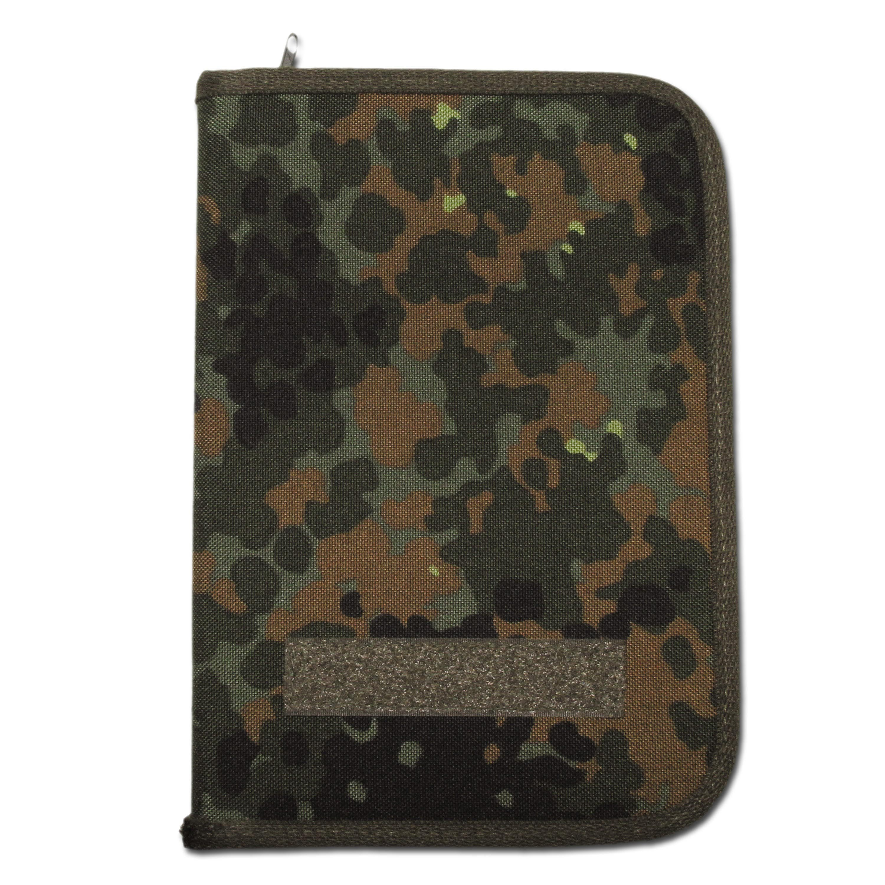 Porte-documents DIN-A5 flecktarn Cordura