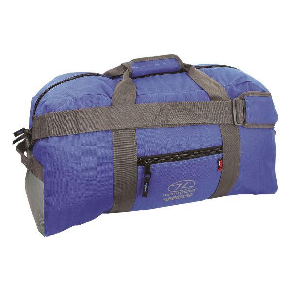 Sac de voyage Highlander Cargo 45L bleu