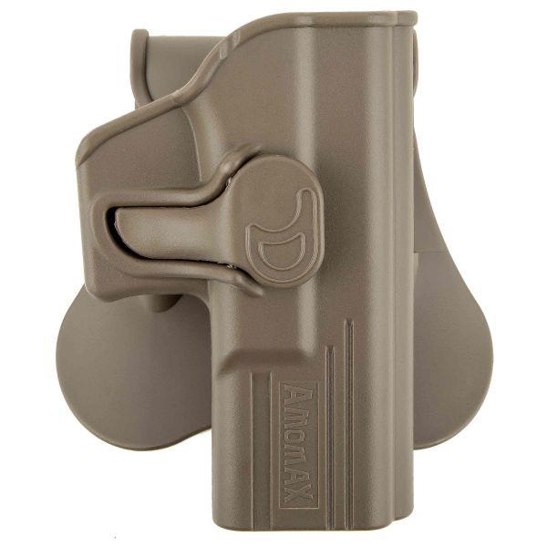 Amomax Paddle Holster pour G19 / ICS BLE-XAE desert