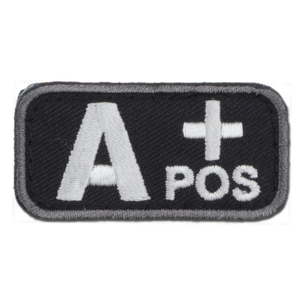 Patch MilSpecMonkey groupe sanguin A Pos swat