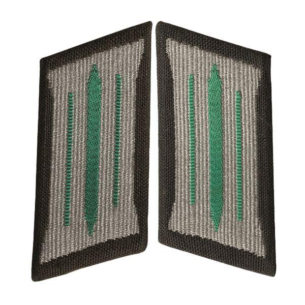Pattes de Col NVA LaSK Soldat vert