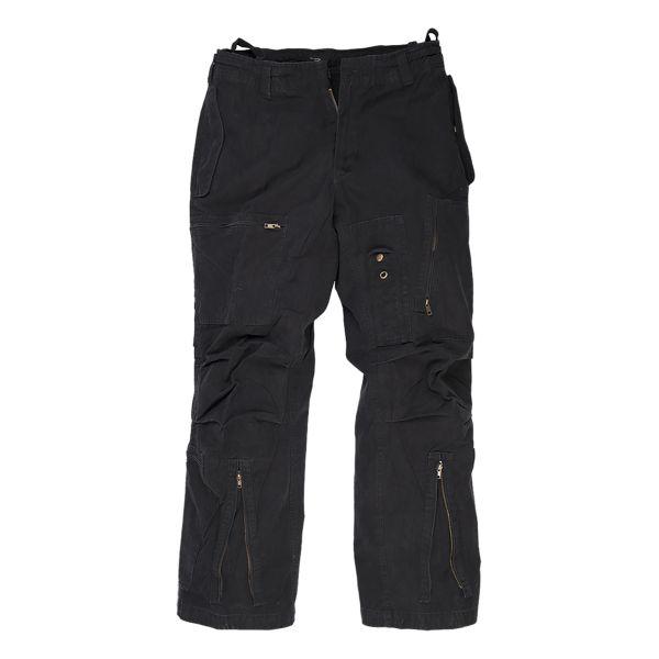 Pantalon Aviateur prélavé noir