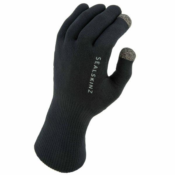 Sealskinz Gants Waterproof All Weather Knitted noir