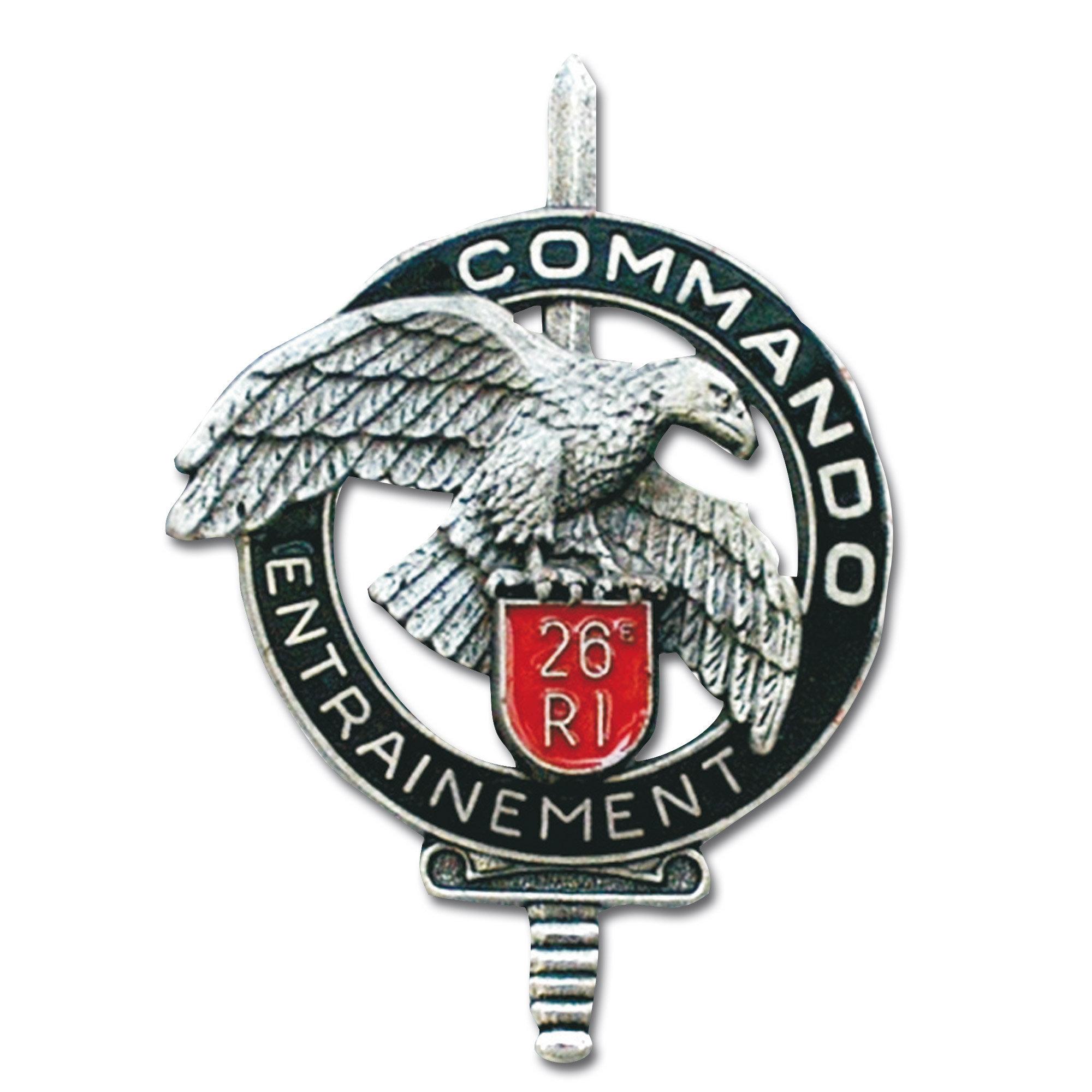 Insigne Français Commando CEC 26e RI