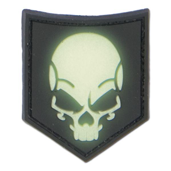 Patch 3D SOF Skull fluorescent