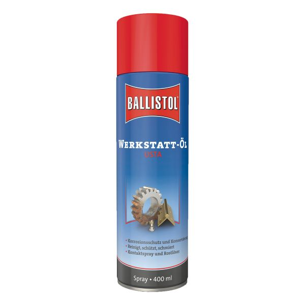 Ballistol USTA Huile de garage Spray 400 ml