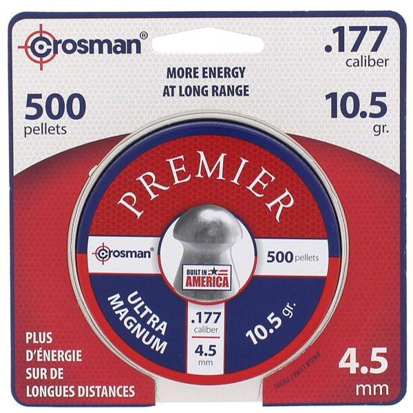 Crosman Plombs Domed Ultra Magnum 4.5 mm 500 pcs