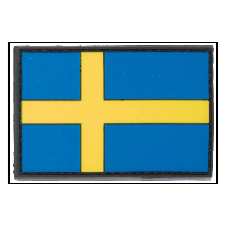 Patch 3D Drapeau Suédois