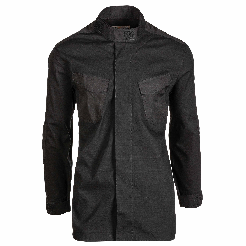 5.11 Chemise de treillis Quantum TDU Long-Sleeve Shirt noir