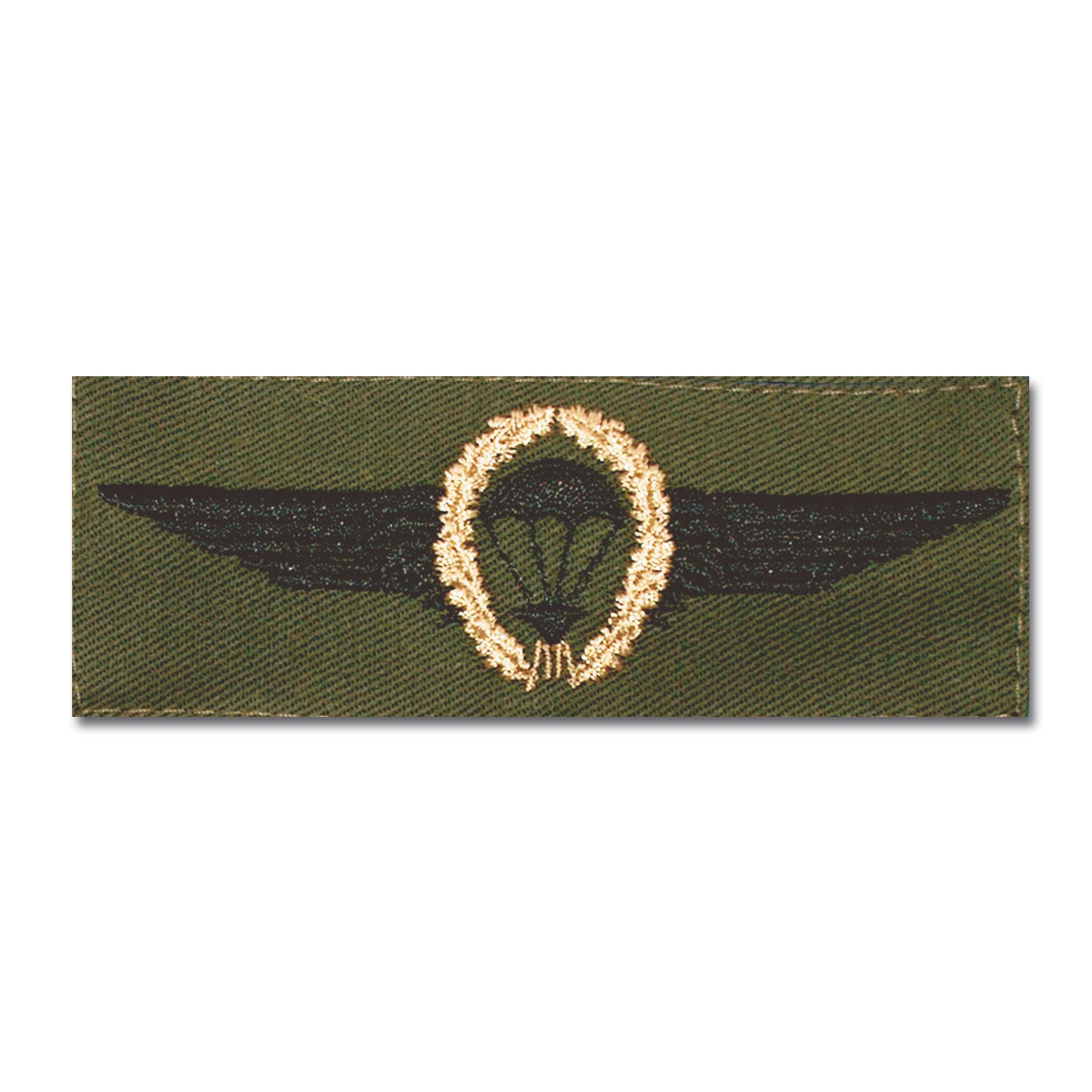 Insigne Fallschirmspringer BW bronze/vert olive