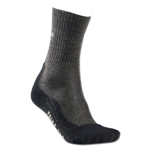 Falke Chaussettes hommes TK2 Wool anthracite