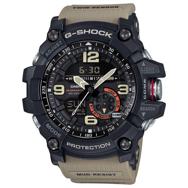 Casio Montre G-Shock Mudmaster GG-1000-1A5ER noir tan