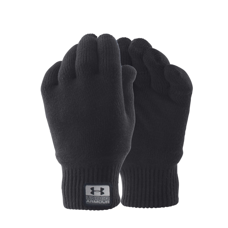 Gants Under Armour Fuse Knit noir