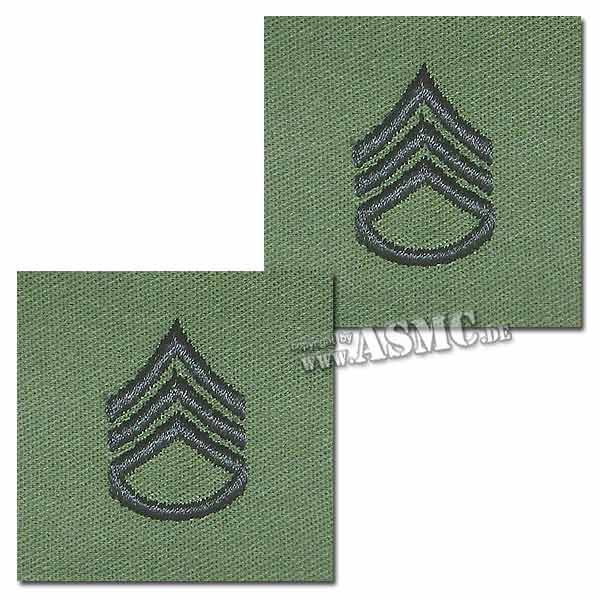 Grade US Sergent-chef tissu